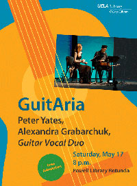 GuitAria flyer May 17, 2014.